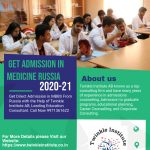 GET ADMISSION IN MEDICINE RUSSIA 2020-21 TWINKLE INSTITUTEAB