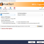 How to Merge Multiple .msg Files to PDF?