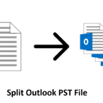 How to Split PST File from Outlook 2010
